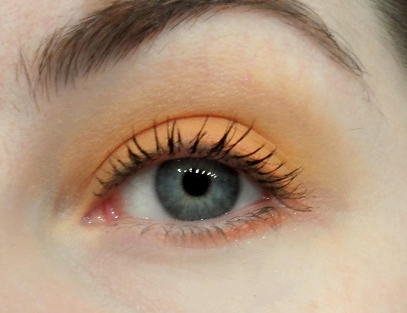 locean pastel orange korean eyeshadow memebox l'ocean pastel orange korean eyeshadow single