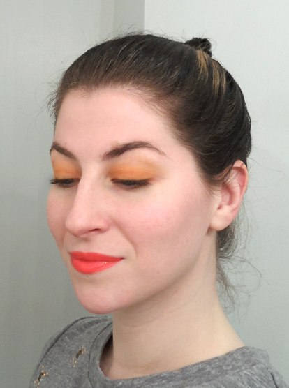 memebox colorbox number 2 orange makeup summer 2014