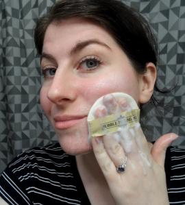 memebox COTTERANG Bubble Peeling Pad review