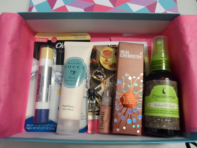 september 2014 birchbox review