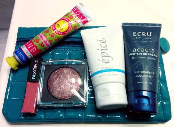 october 2014 ipsy glam bag samples review