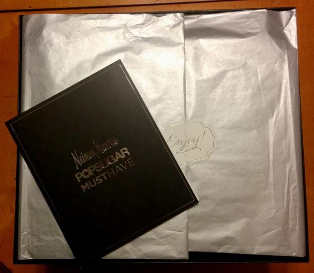 2014 Nieman Marcus Pop Sugar Must Haves box review