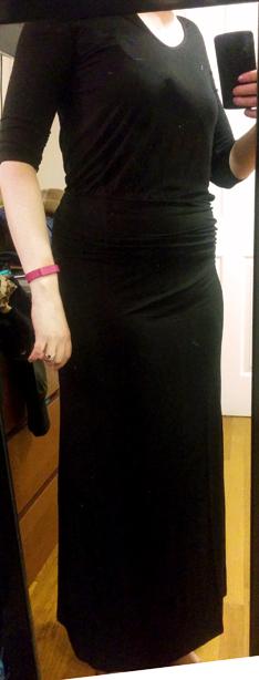 black puella la boheme long sleeved maxi dress