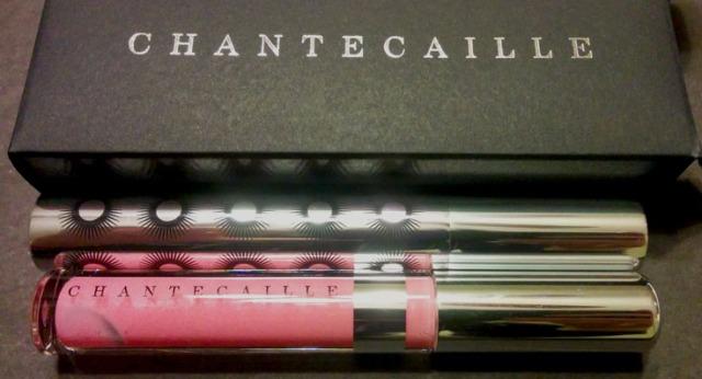 Chantecaille Brilliant Gloss and supreme cils mascara