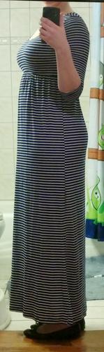 Fantastic Fawn 3-4 Sleeve Maxi Dress