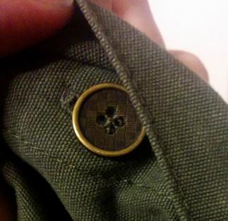 leshop military shirt jacket button