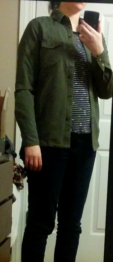leshop military shirt jacket