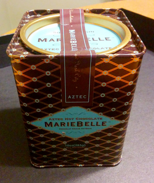 MarieBelle Aztec Hot Chocolate Tin