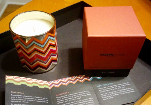 Missoni Home Collection Apothia Candle in Monterossa