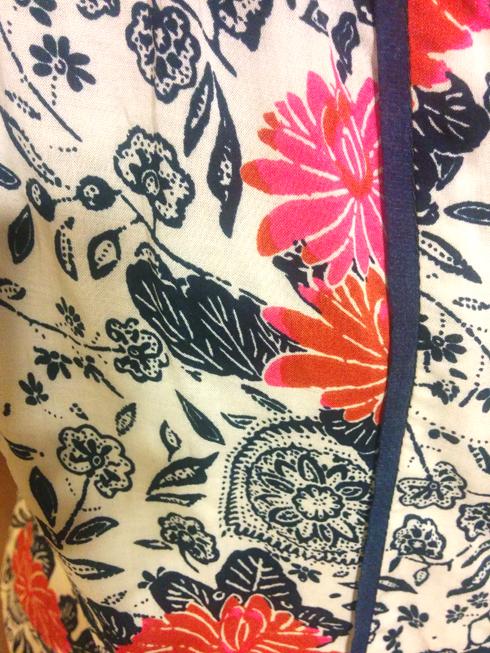 october 2014 golden tote porridge floral blouse print