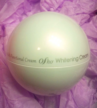 osho multi function whitening cream packaging