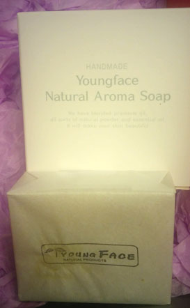 youngface natural soap