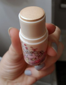 peripera heart glow gold cream highlighter