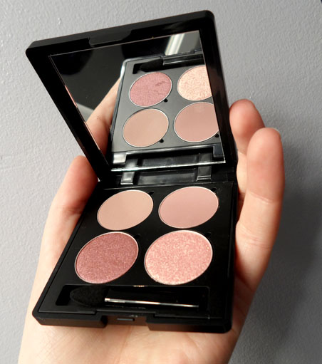 soothing sista xo memebox rose gold marsala eye shadow palette