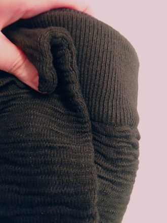 kerisma skirt texture closeup