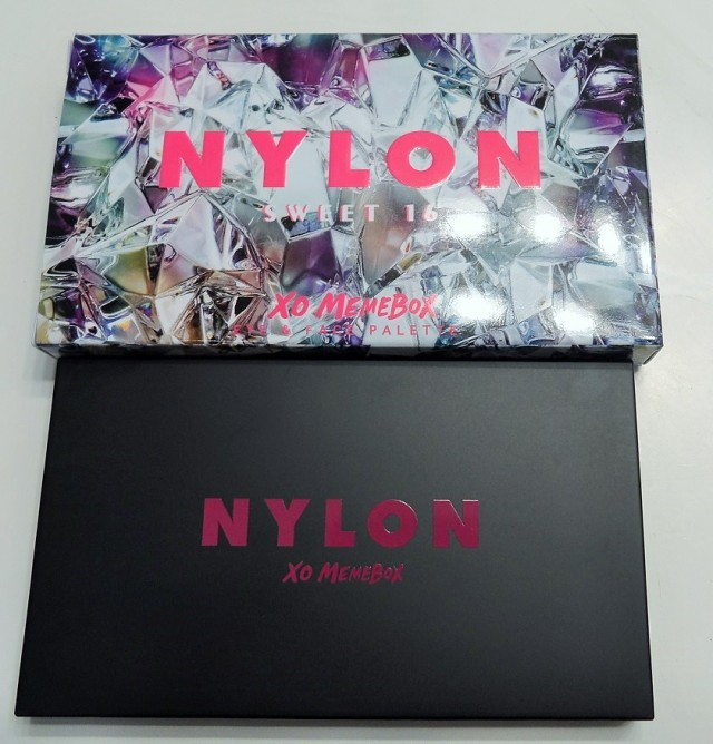 nylon x xo memebox packaging