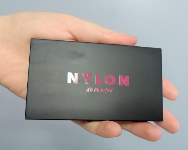nylon x xo memebox palette size