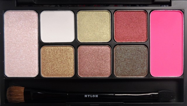 nylon xo memebox face palette shades