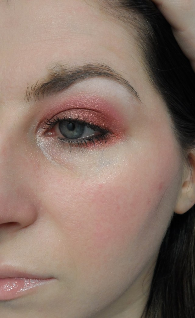 nylon xo memebox sweet 16 eyeshadow look