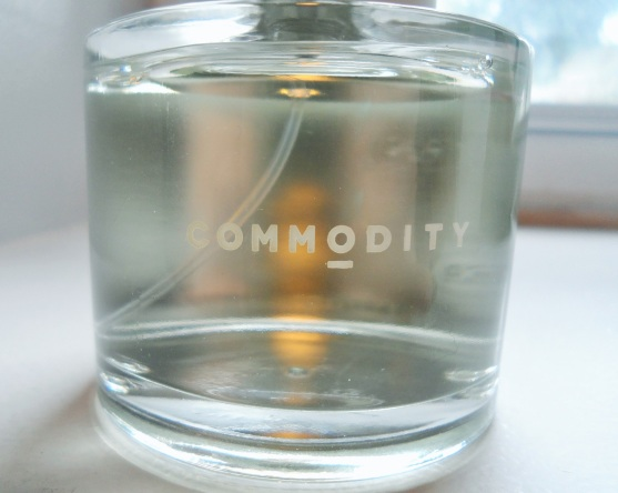 commodity cologne bottle design