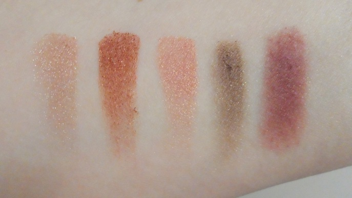 makeup geek eyeshadow swatches starry eyed flame thrower cosmopolitan hipster bitten