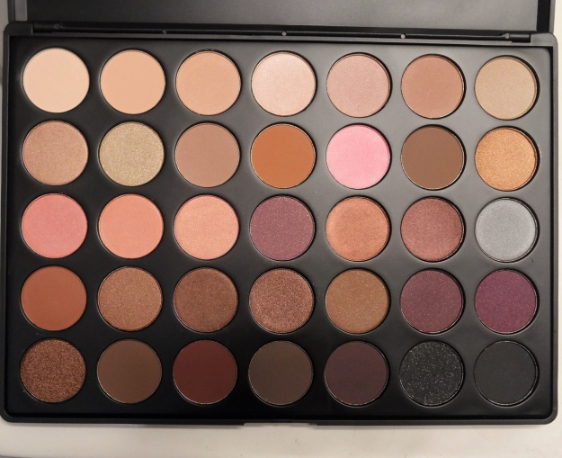 MORPHE BRUSHES 35 color warm palette