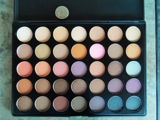 MORPHE BRUSHES 35W eyeshadow palette