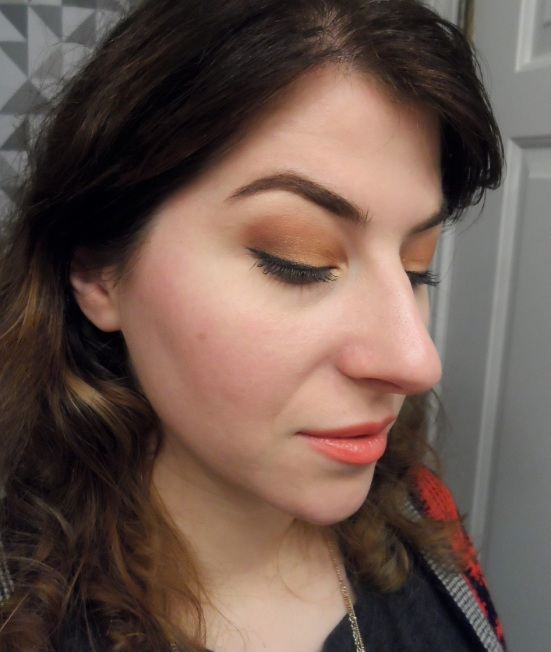 MORPHE BRUSHES 35W palette warm eyeshadow look