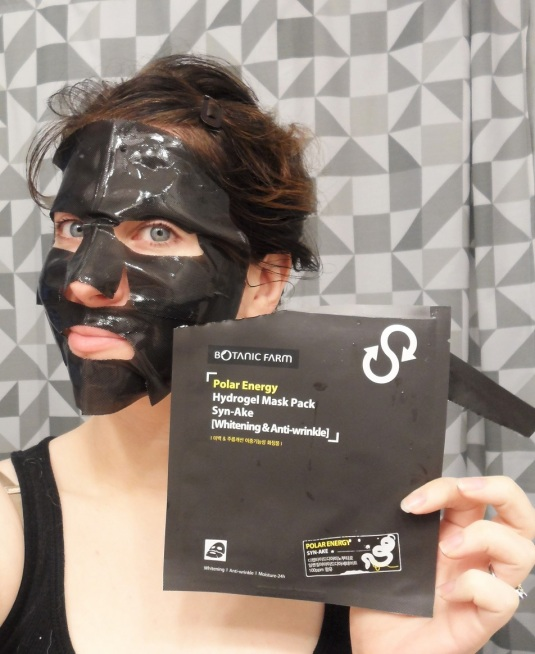 Polar Energy Hydrogel Mask Pack Syn-Ake
