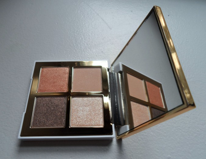 pony 3 brown bloom eye shadow quad  packaging