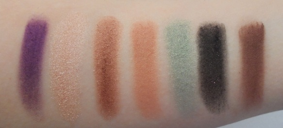 anastasia beverly hills self made eyeshadow palette swatched
