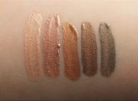 Jordana Made to Last Liquid Eyeshadow Swatches