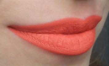 Jordana Sweet Cream Matte Liquid Lip Color Mango Sorbet