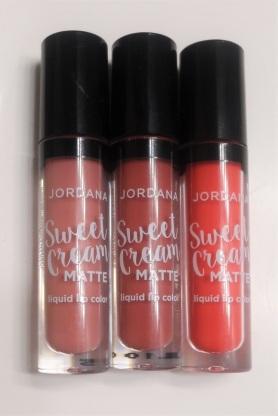 Jordana Sweet Cream Matte Liquid Lip Color Review