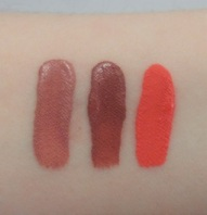 Jordana Sweet Cream Matte Liquid Lip Color Swatches